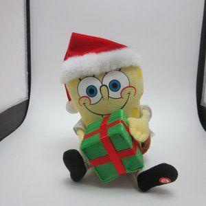 Spongebob Squarepants Christmas singing toy
